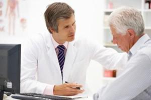 Бужирование уретры кривым бужом с препаратом